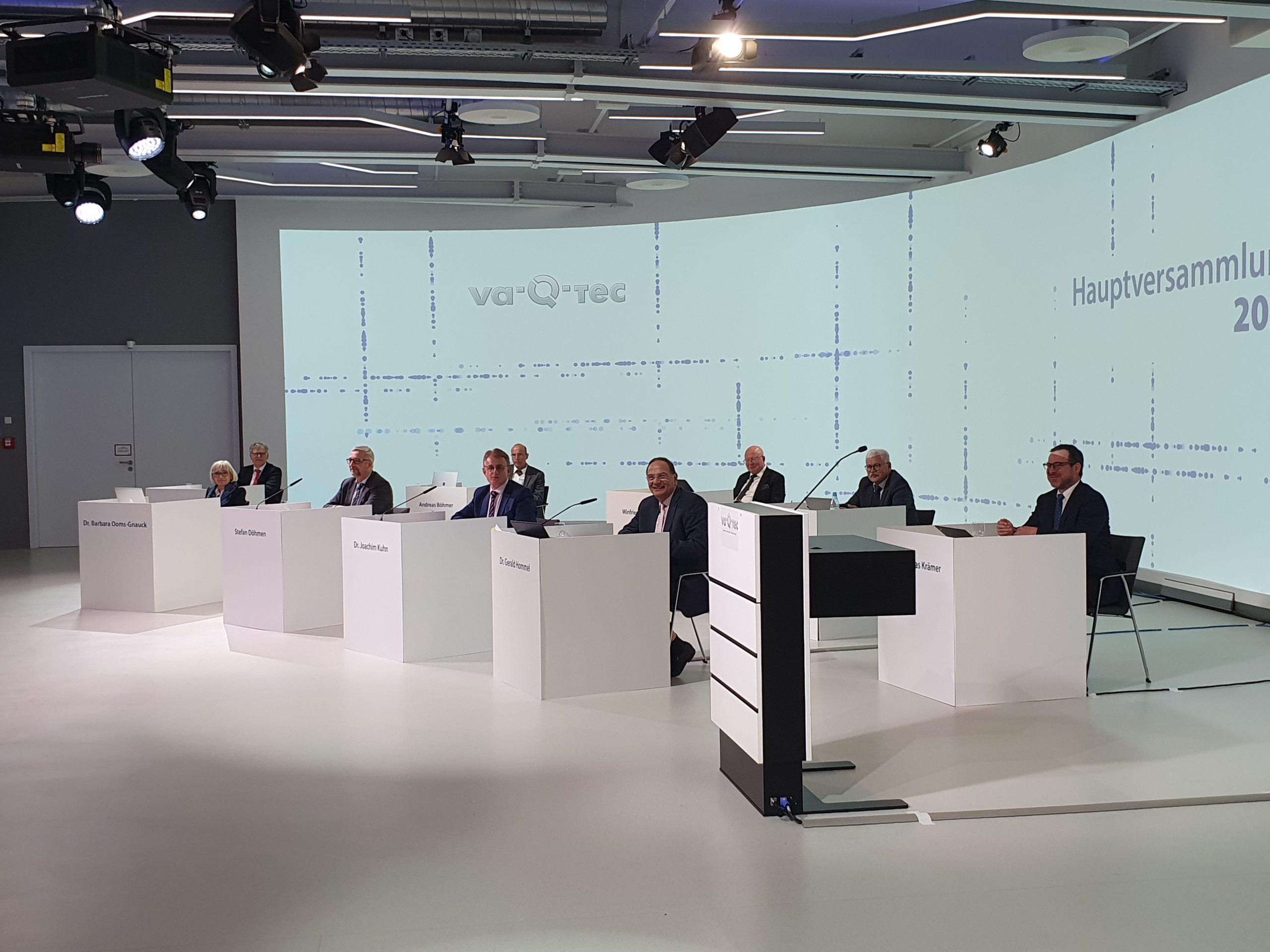 va-Q-tec berichtet auf Hauptversammlung 2021 über sehr erfolgreiche Geschäftsentwicklung