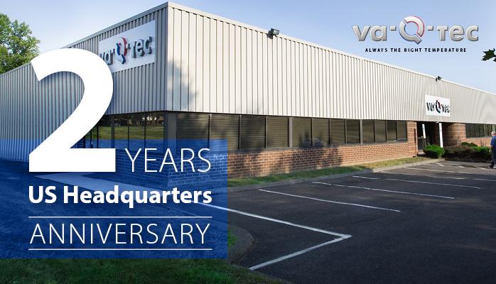 va-Q-tec feiert 2-jähriges Bestehen des US-Hauptquartiers