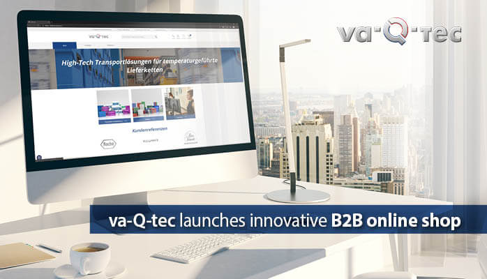 va-Q-tec launches B2B online shop of its purchase high-tech solutions