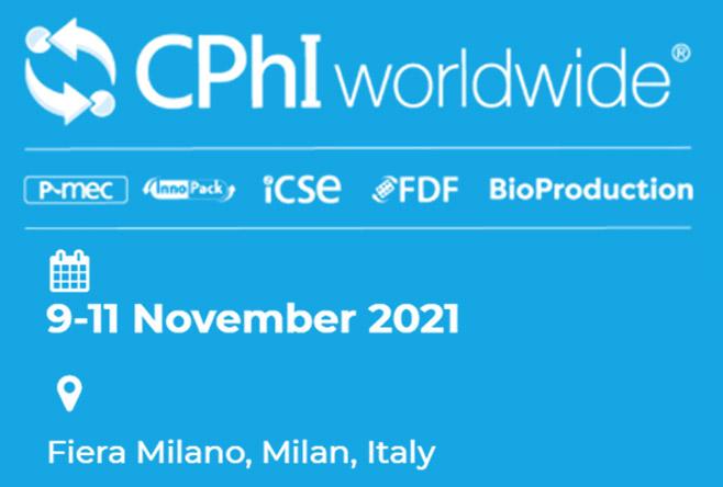CPHI Worldwide 2021, Milan