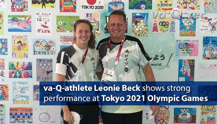 va-Q-athlete Leonie Beck zeigt starke Leistung bei Olympischen Spielen in Tokio 2021