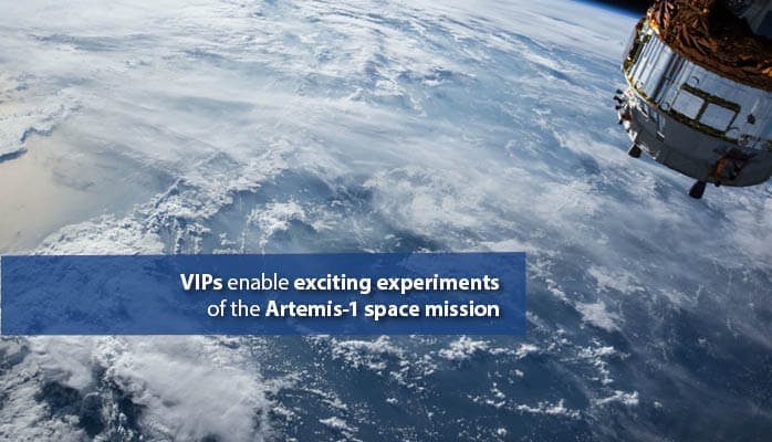 VIPs from va-Q-tec: Application in experiments in space