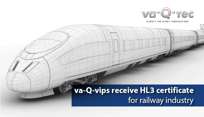 va-Q-vips bestehen Brandanforderungen für Schienenverkehr