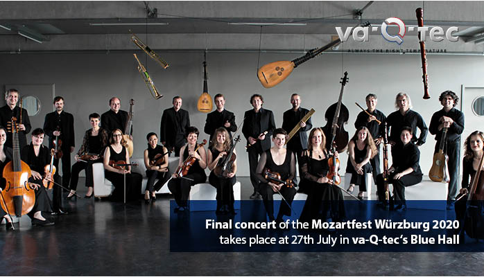 Final event of the Würzburg Mozart Festival takes place in va-Q-tec's Blue Hall
