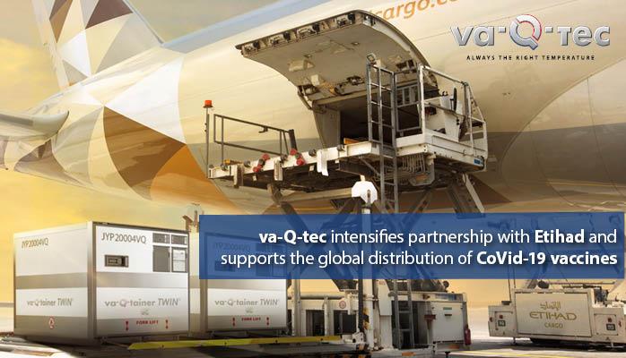 va-Q-tec und Ethiad Cargo intensivieren bestehende Partnerschaft
