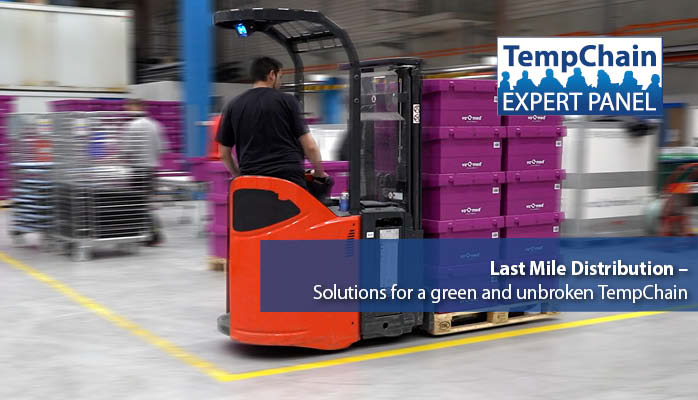 TempChain Experts Panel Live Webinar 2021: Last Mile Distribution - Solutions for a green and unbroken TempChain