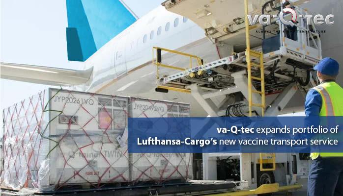 va-Q-tec expands temperature and performance portfolio for Lufthansa-Cargo's new vaccine transport service