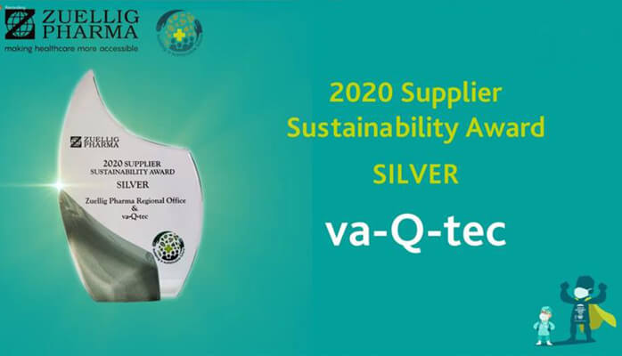 va-Q-tec ist für den Zuellig Pharma inaugural Supplier Sustainability Award nominiert