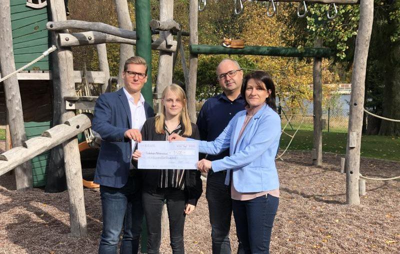 va-Q-tec spendet an das Kinderhospiz Mitteldeutschland