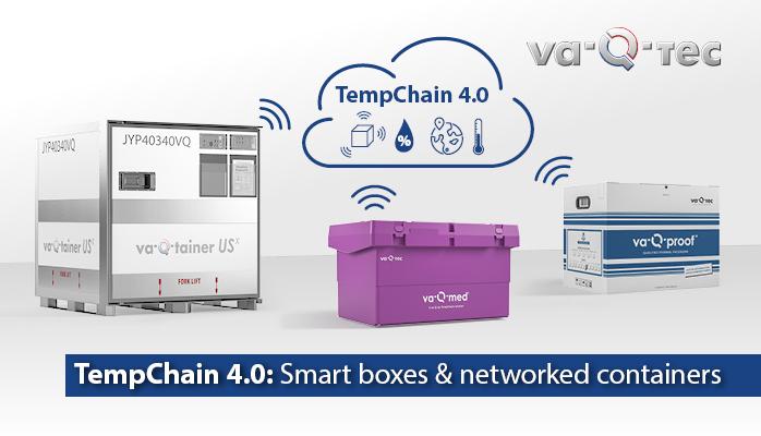 TempChain 4.0: intelligente Boxen und vernetzte Container