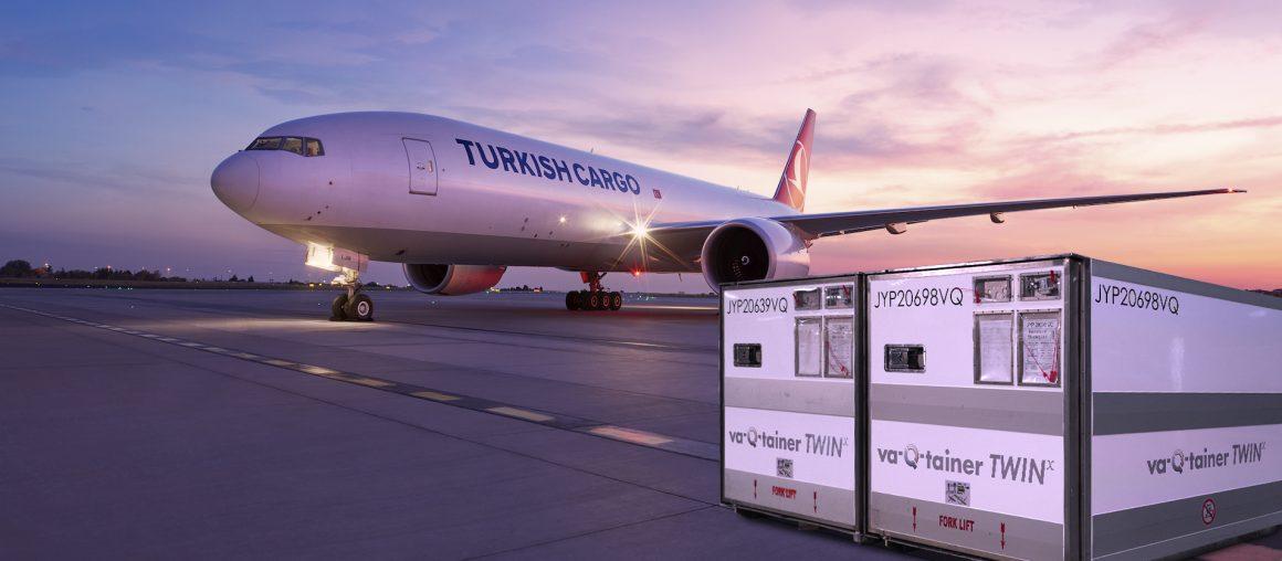 Neue Kooperation: Turkish Cargo tritt Airline-Partnernetzwerk von  va-Q-tec bei