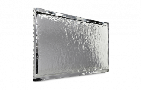 va-Q-plus, das Vakuumisolationspaneel der 2. Generation ist ein mikroporöser Dämmstoff auf Basis pyrogener Kieselsäure mit dem besten Preis-Performance-Verhältnis.